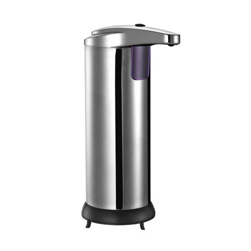 Saboneteira Automática Dispenser Para Sabonete Líquido Cromada Infrared Uny Gift ZYX01E  - MGCOMPUTERS
