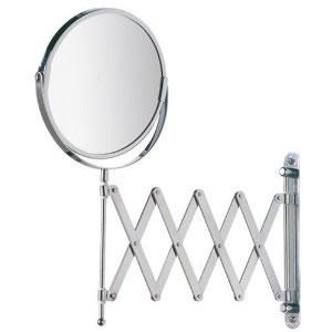 Espelho Duplo Articulado Sanfonado Com Aumento de 3X Wenko WE15165100  - MGCOMPUTERS