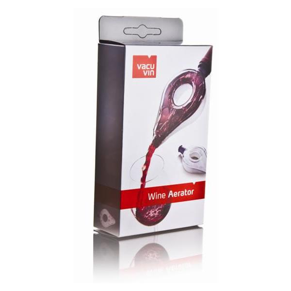 Aerador de Vinho Transparente Vacu Vin Wine Aerator 21106  - MGCOMPUTERS