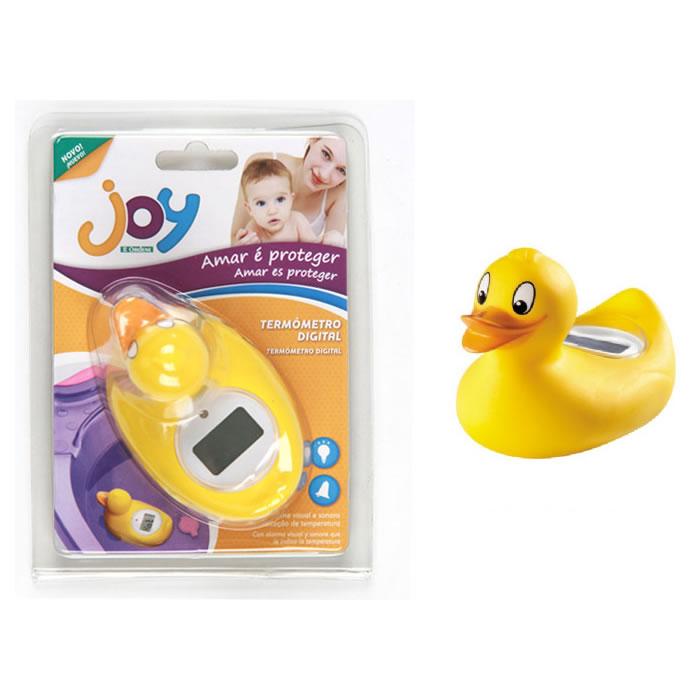 Termômetro Digital de Banho Patinho Para Banheira de Bebê Ordene OR93000  - MGCOMPUTERS