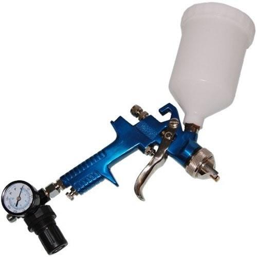 Pistola de Pintura Por Gravidade HVLP Com Regulador de Pressão Profissional EZ H827R  - MGCOMPUTERS