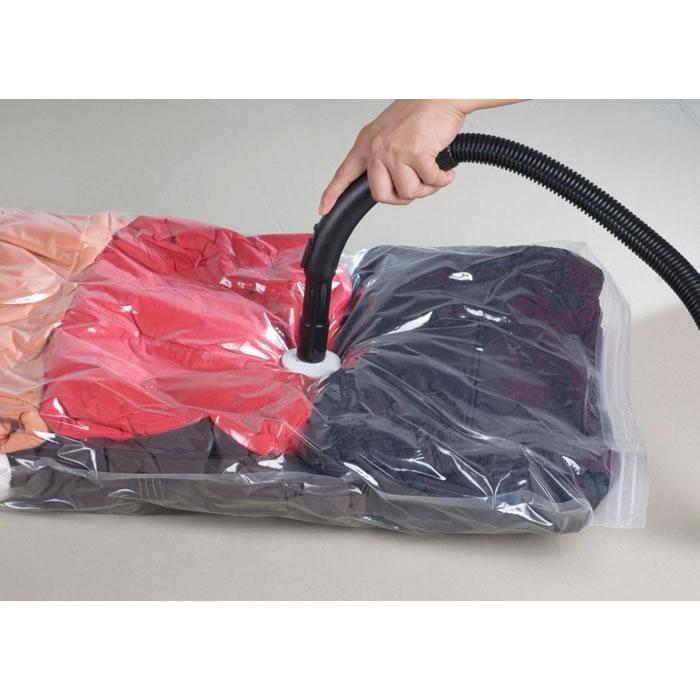 Kit Sacos a Vácuo Bag Space 1 Pequeno 1 Médio e 1 Grande Organizador Para Armazenamento de Roupas  - MGCOMPUTERS