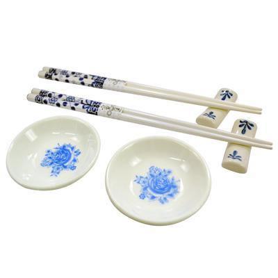 Kit Para Sushi em Porcelana Jogo Com 6 Peças Wincy DTF0103  - MGCOMPUTERS