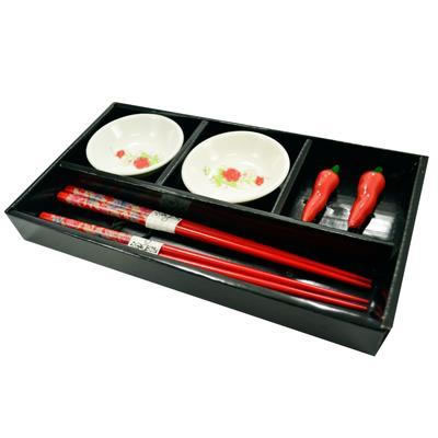 Kit Para Sushi em Porcelana Jogo Com 6 Peças Wincy DTF0104  - MGCOMPUTERS