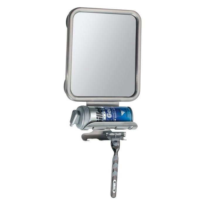 Espelho Anti Embaçante Para Box de Banheiro Com Ventosas Inter Design ID-420-80  - MGCOMPUTERS