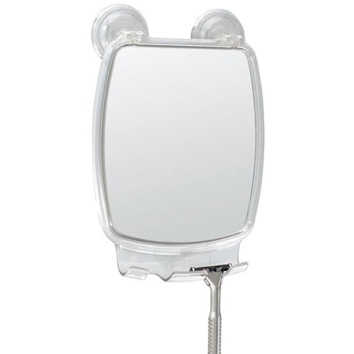 Espelho Para Box de Banheiro Anti Embaçante Com Ventosas Inter Design ID-521-50  - MGCOMPUTERS