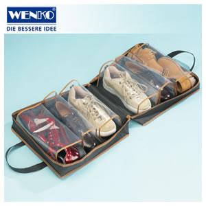 Sacola de Viagem Para Sapatos e Tênis Com 6 Bolsos Wenko WE4204010100  - MGCOMPUTERS
