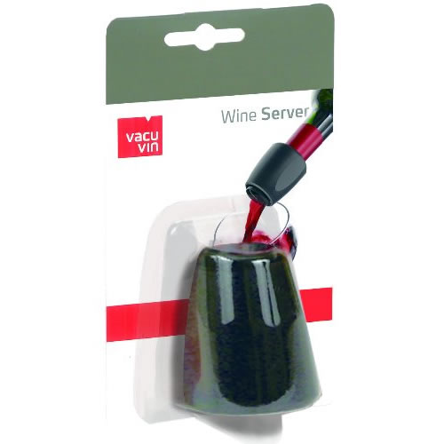 Bico Dosador Corta Pingos Para Garrafas de Vinho Wine Server Vacu Vin 21032  - MGCOMPUTERS