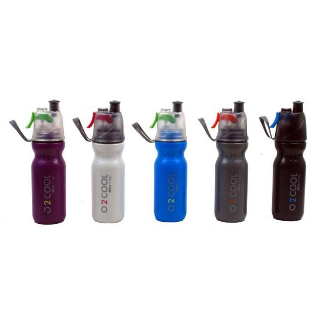 Garrafa Cantil Squeeze com Borrifador de Água O2Cool Total Hidro 3198  - MGCOMPUTERS