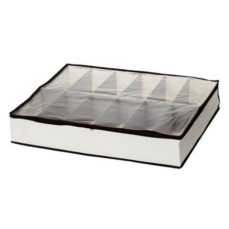 Sapateira Caixa Organizadora Em Poli�ster Com 12 Divis�es Espa�o Home 12146  - MGCOMPUTERS