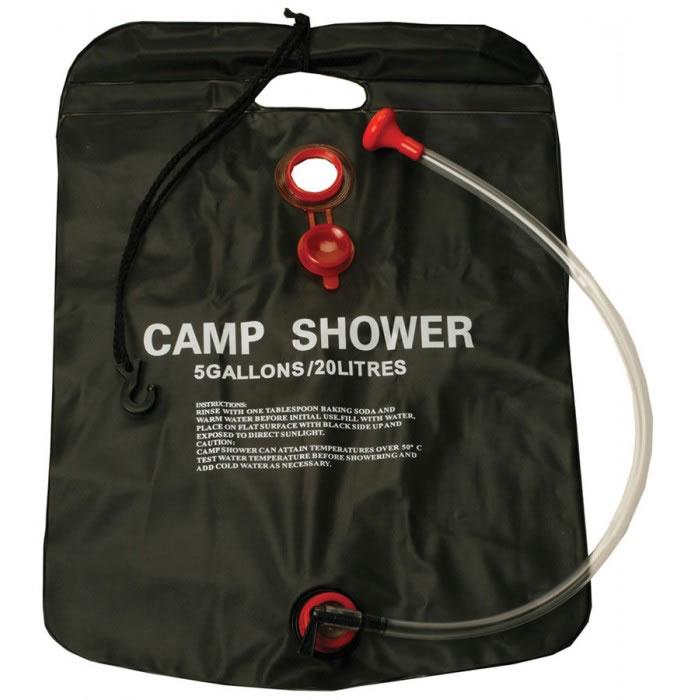 Chuveiro Ducha Com Aquecimento Solar Para Camping 20 Litros Western CAMP04  - MGCOMPUTERS