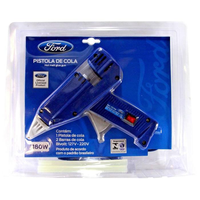 Pistola de Cola Quente 180W Profissional Ford FD798 Bivolt  - MGCOMPUTERS
