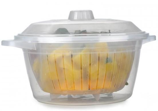 Panela A vapor Para Cozinhar Legumes No Micro-ondas Legumeira Legumix Nitron 194  - MGCOMPUTERS