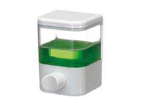 Saboneteira Porta Sabonete Líquido de Parede Em Acrílico Transparente 250ml Fiorella 6101  - MGCOMPUTERS