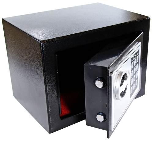 Cofre Eletrônico Com Senha e Chave de Segurança Western CFR-01  - MGCOMPUTERS