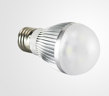 Lâmpada Led Bulbo 3W E27 Econômica Branca Fria Bivolt 127V 220V ZGP CL3W  - MGCOMPUTERS