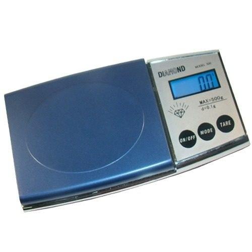 Mini Balança De Precisão Digital Pesa 0,1g até 500g Diamond 500  - MGCOMPUTERS