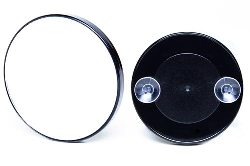Espelho Com Aumento de 5X e Ventosas Para Fixar Fika FK679 Preto  - MGCOMPUTERS