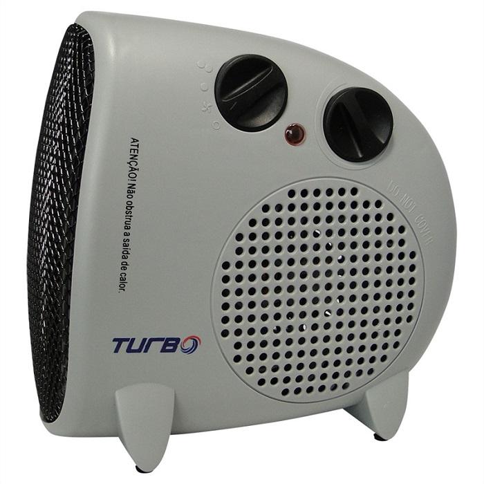 Aquecedor De Ar El�trico Termoventilador 1500W Turbo Wave CRFH-2002 Cinza 127V  - MGCOMPUTERS