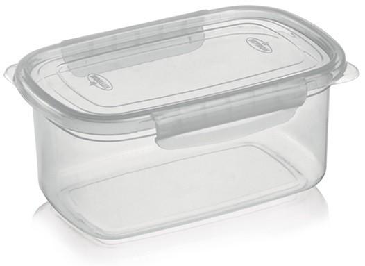 Kit 10 Potes Altos Com Tampa E Travas Para Micro-ondas E Freezer 850ml Nitron 155  - MGCOMPUTERS