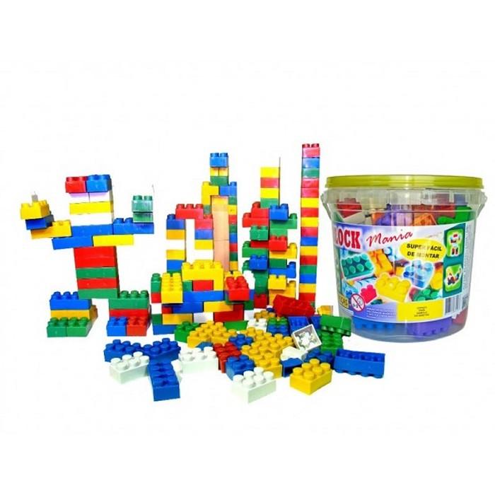 Blocos De Montar Block Mania Com 104 Peças Brinquedo Educativo Alfem BM104  - MGCOMPUTERS