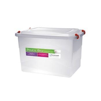 Caixa Organizadora Plástica Pratic Box 20 Litros Paramount 151  - MGCOMPUTERS