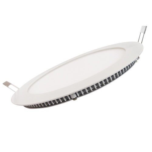 Luminária de Led Redonda Branca Para Embutir 18W 22cm Led Branco Frio Bivolt MBD18WY  - MGCOMPUTERS