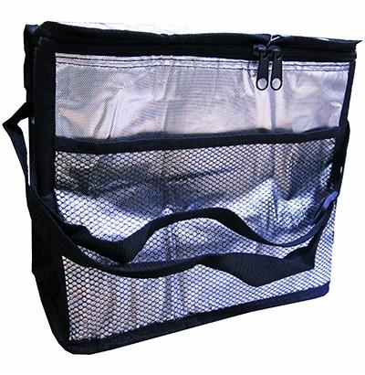 Bolsa Térmica Metalizada Cooler Com Alças e Bolso Externo 10 Litros FWB 92526  - MGCOMPUTERS