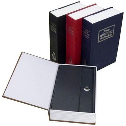 Cofre Camuflado em Formato de Livro Dicionário com Chave Pequeno  - MGCOMPUTERS