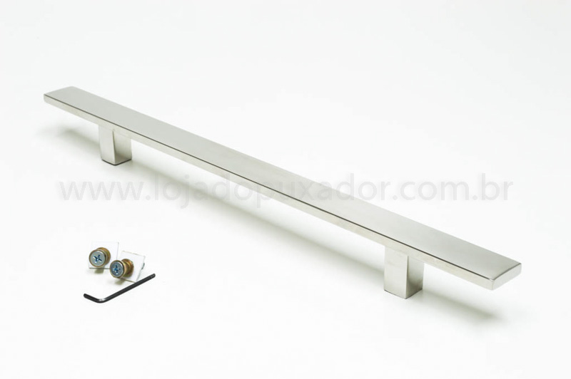Puxador Para Portas (1 LADO)AÇO INOX POLIDO -CLEAN
