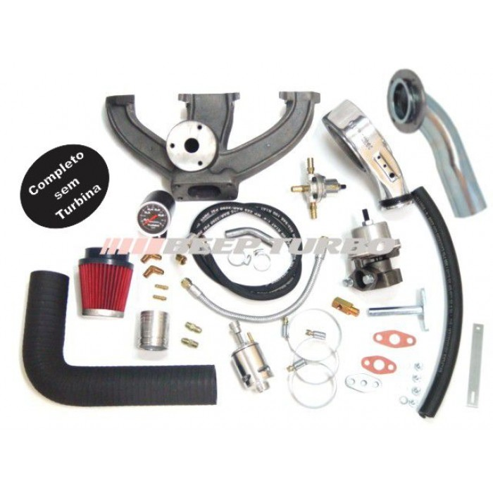Kit turbo VW - AE - Carburado 1.6 sem Turbina