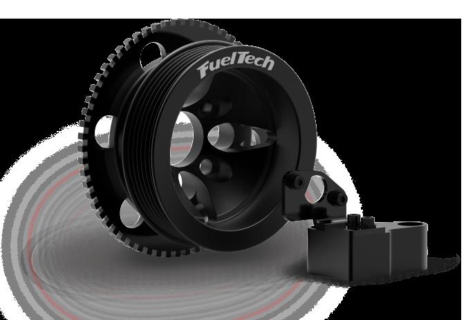 Suporte Sensor da Roda Fonica 16V - Fueltech By Expert