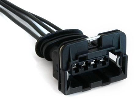 Conector Bobina de Corsa - 4 Fios