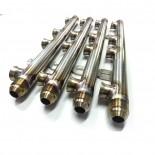 Flauta de combustível inox - Fueltech By Expert