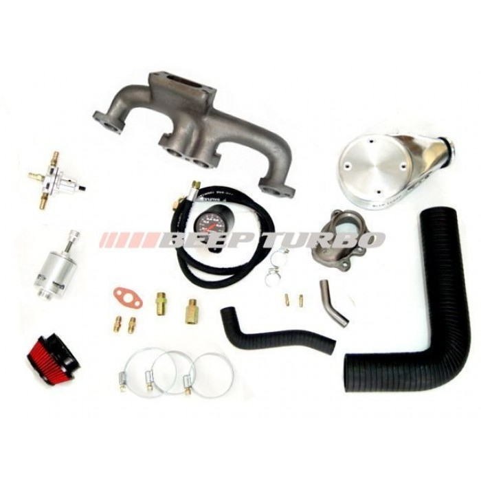 Kit turbo Fiat - Argentino - Carburado 1.5 / 1.6 / 1.6 R (Fiorino LX) sem Turbina