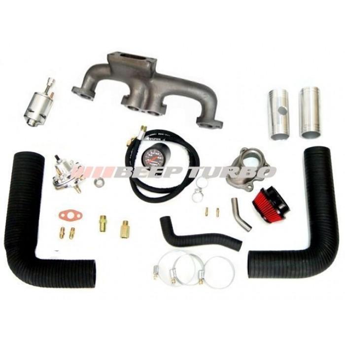 KIt turbo Fiat - Argentino - MPI 1.5 /1.6 ( Fiorino LX ) sem Turbina