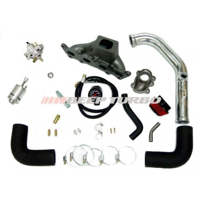 Kit turbo Fiat - Fire 1.0 / 1.3 - 16V  (Palio / Uno) sem Turbina