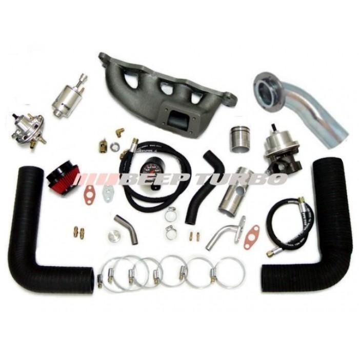 Kit Turbo Fiat - (Palio/ Strada/ Brava) 1.6/ 16V sem Turbina