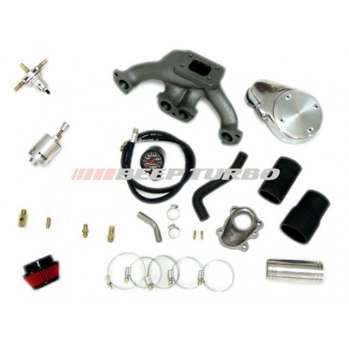 Kit Turbo Fiat - Fiasa - Carburado 1.0 /1.3 (Uno/Fiorino) sem Turbina