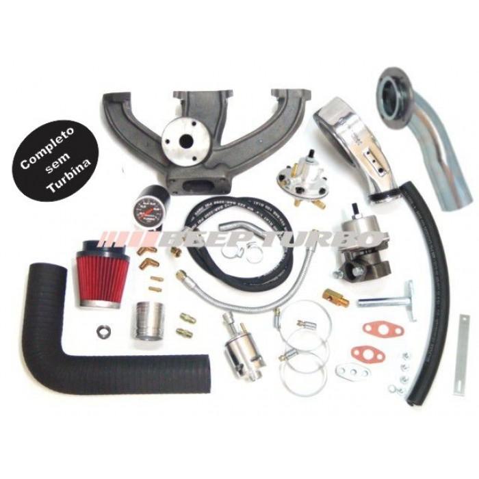 Kit turbo VW - AE - Injeção - 1.6 sem Turbina