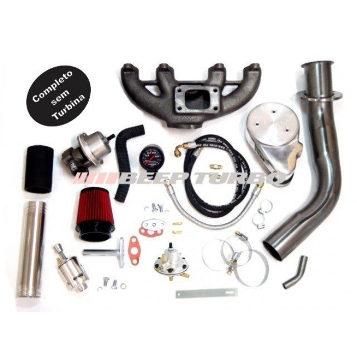 Kit turbo VW - AP - CLI - 1.6 / 1.8 / 2.0 sem Turbina