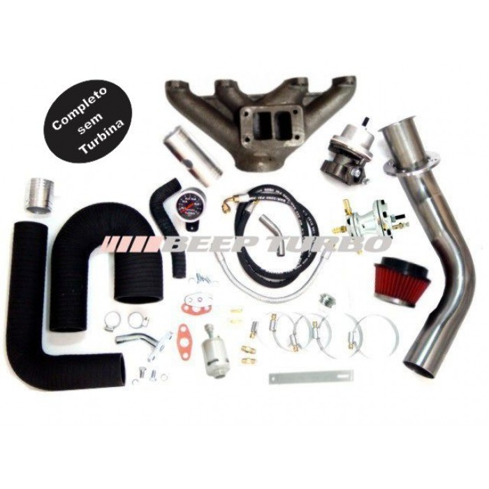 Kit Turbo VW - AP Pulsativo p/ baixo - MI - 1.8/1.9/2.0 sem Turbina