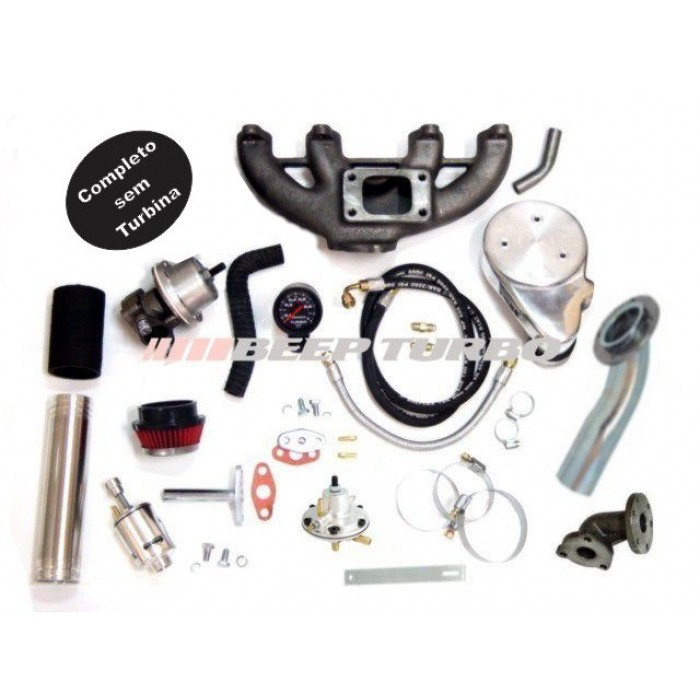 Kit turbo VW - AP Transversal CLI - 1.6 / 1.8 / 2.0 sem Turbina