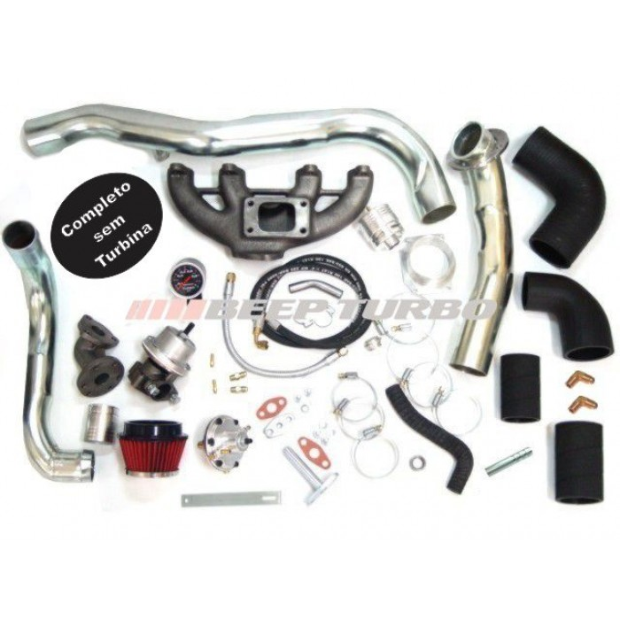 Kit turbo VW - AP-Transversal Golf ( MI / GTI ) 1.6 / 2.0 sem Turbina