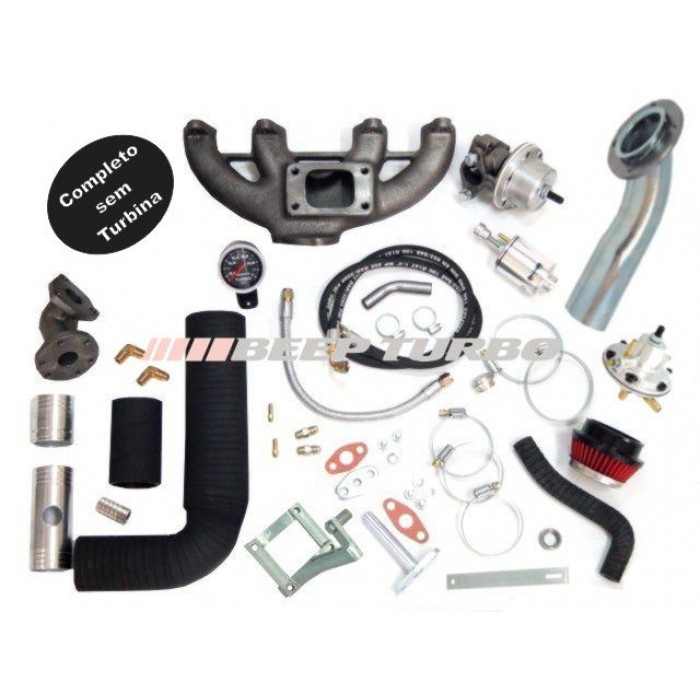 KIt turbo VW - AP-Transversal Golf / Polo Antigo ( Fluxo Cruzado) 1.8 / 2.0 sem Turbina