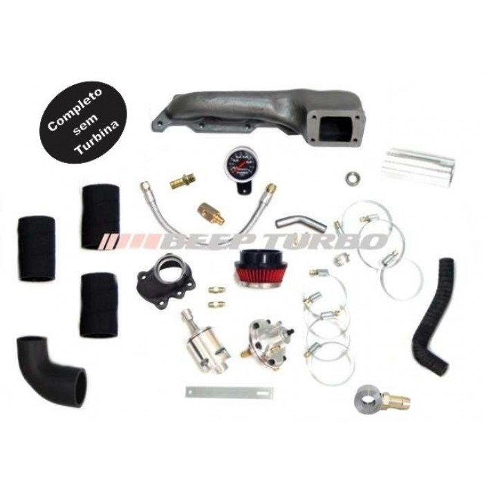 Kit turbo VW - AT 1.0 - 16 V ( Turbo de Fabrica) UP-Grade /sem Turbina