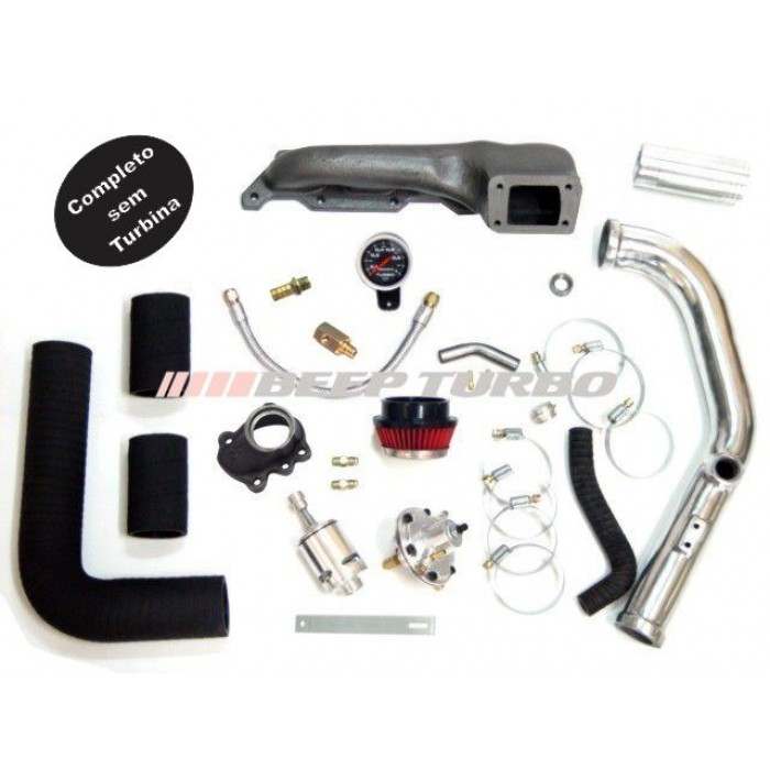 Kit turbo VW - AT 1.0 - 16 V sem Turbina