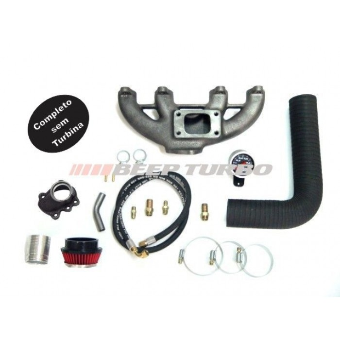Kit turbo VW - Diesel motor MD - Kombi - Saveiro sem Turbina
