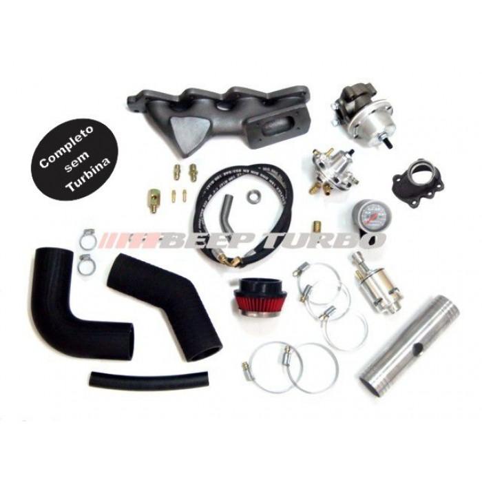 Kit turbo VW - EA111 - 1.0 Transversal Gol / Voyage (novo) G5 sem turbina