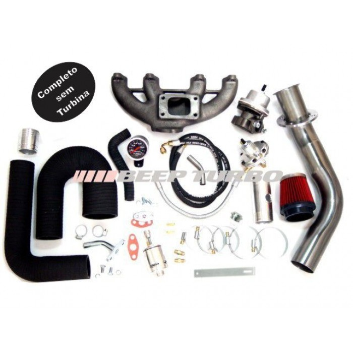 Kit Turbo Vw - AP MI - 1.6 / 1.8 / 2.0 sem Turbina